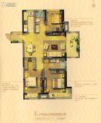 湖滨名都・观樾3室2厅2卫108平方米户型图