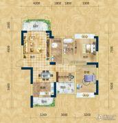 精通・伊顿国际2室2厅2卫116平方米户型图