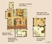 海天紫郡3室2厅2卫156平方米户型图