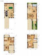 三水润园二期0室0厅0卫184平方米户型图