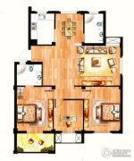 银兰公寓3室2厅2卫112平方米户型图