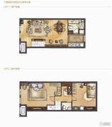哈尔滨星光耀广场2室1厅2卫0平方米户型图