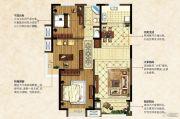 中南锦城3室2厅1卫118平方米户型图