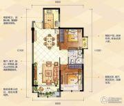 夏商新纪元2室2厅1卫0平方米户型图