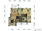 观山悦公馆4室2厅2卫0平方米户型图