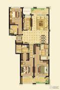 金鼎湾如院3室2厅3卫172平方米户型图