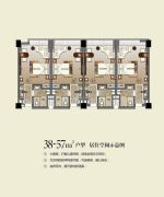 民大商贸大厦0室0厅0卫38--57平方米户型图