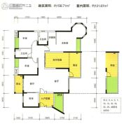 江南世家4室2厅2卫120--160平方米户型图