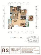 天立香缇华府4室2厅2卫118--131平方米户型图