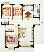 康桥丽景3室2厅2卫0平方米户型图