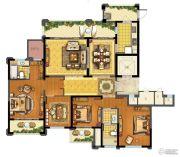 青林湾8期4室2厅2卫183平方米户型图