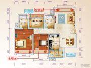 星光大道3室2厅2卫108--112平方米户型图