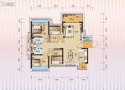 汇园国际2期天荟4室2厅2卫0平方米户型图