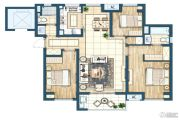 灏景湾3室2厅2卫110平方米户型图