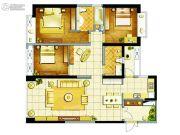 东方希望天祥广场天荟3室2厅2卫127平方米户型图