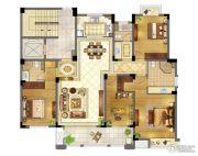 苏宁天御广场4室2厅3卫160平方米户型图