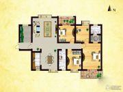 天煜・紫悦城4室2厅2卫186平方米户型图