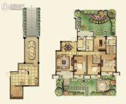 中环滨江世纪4室2厅2卫139平方米户型图