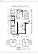 骏景豪庭3室2厅2卫0平方米户型图