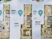 万科山景城4室2厅3卫0平方米户型图