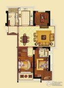 海洲新天地广场3室2厅2卫144平方米户型图