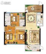 帝�Z苑3室2厅2卫153平方米户型图