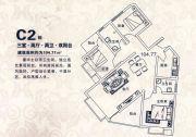 滨江国际3室2厅2卫104--105平方米户型图