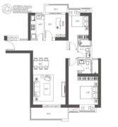 万象汇・润府3室2厅2卫149平方米户型图