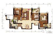 环球汇天誉3室2厅2卫138平方米户型图