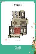 绿都悦府4室2厅2卫0平方米户型图