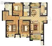 启迪协信・无锡科技城3室2厅2卫116平方米户型图