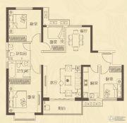 龙腾嘉园4室2厅2卫122平方米户型图