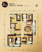 外滩・龙庭帝景5室2厅2卫0平方米户型图