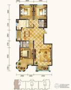 锦麟3室2厅2卫151平方米户型图