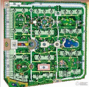 海岛规划设计平面图