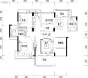 宏德・仙域华庭4室2厅2卫139平方米户型图