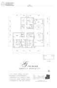 富力湾4室2厅3卫212平方米户型图