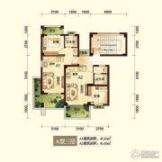 峨眉半山七里坪2室2厅2卫47平方米户型图