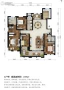 东湖方舟4室2厅3卫219平方米户型图