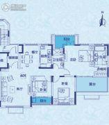 郑州恒大山水城3室2厅2卫152平方米户型图