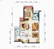 久安新坐标2室1厅1卫63平方米户型图