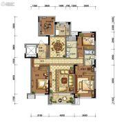 碧桂园御长白4室2厅2卫138平方米户型图