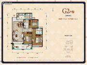 中德英伦联邦3室2厅2卫104平方米户型图