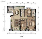 嘉裕第六洲3室1厅2卫0平方米户型图
