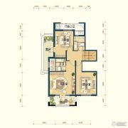 滨湖国际・观澜4室3厅4卫270平方米户型图