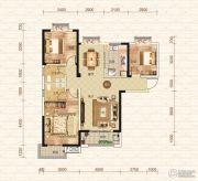 钓鱼台二期3室2厅2卫119平方米户型图