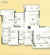 敏捷金月湾4室2厅2卫171平方米户型图