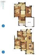 野风启城5室2厅2卫165平方米户型图