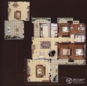 嘉城尚郡3室2厅2卫149平方米户型图