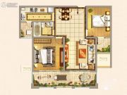 仁和景苑2室2厅1卫89平方米户型图